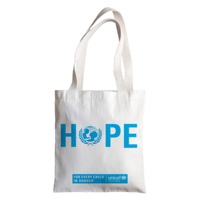 For your Mum: A beautiful cotton tote bag with the inspiring slogan 'HOPE'.<br><br>The good cause: A donation to fully fund a midwifery kit to ensure that babies arrive safely in the world.